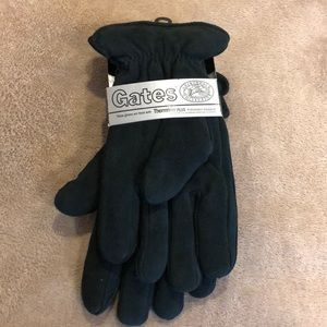 NEW Black suede Gates Adirondack Gloves Sz XL